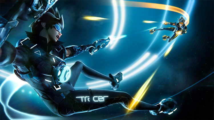 tron fortnite skin